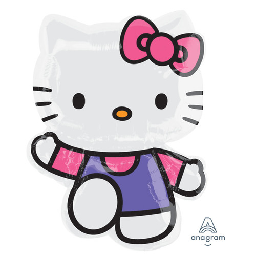 Hello Kitty Pink & Purple Foil Balloon (30inch)