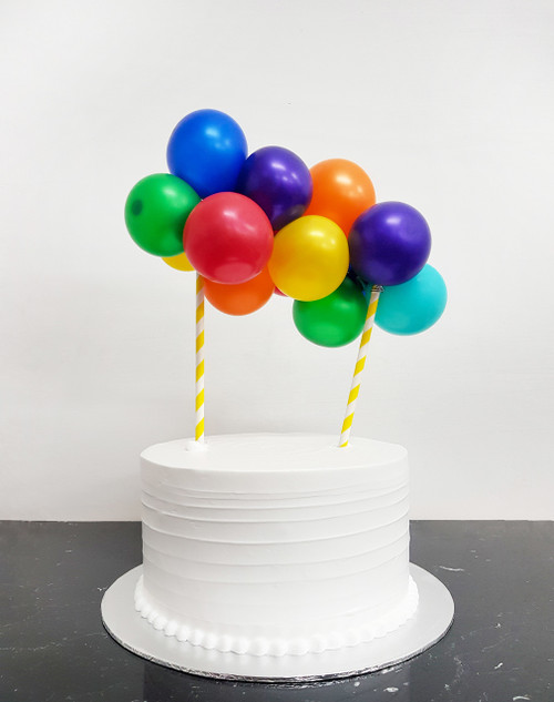 [Petit] Create Your Own Rainbow Organic Balloon Garland Cake Topper - Fashion/Metallic/Macaron Color