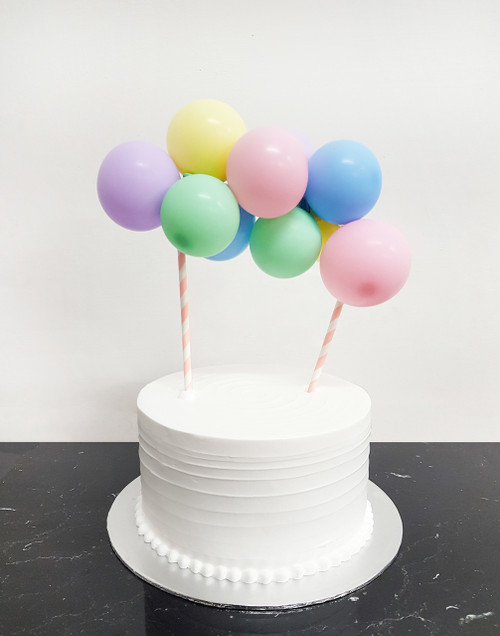 [Petit] Create Your Own Organic Balloon Garland Cake Topper - Macaron Matte Color