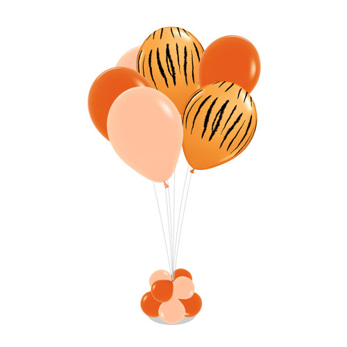Jungle Safari 105cm tall Balloon Stand - Fashion Color