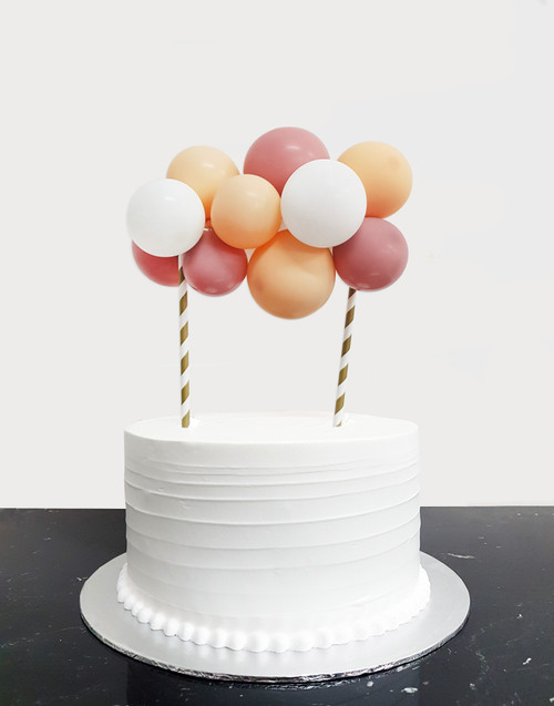 [Petit] Create Your Own Fashion Organic Balloon Garland Cake Topper - Fashion Color