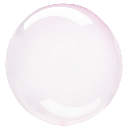 "[Crystal Clearz] 18""/45cm Crystal Clearz Bubble Balloon - Light Pink"
