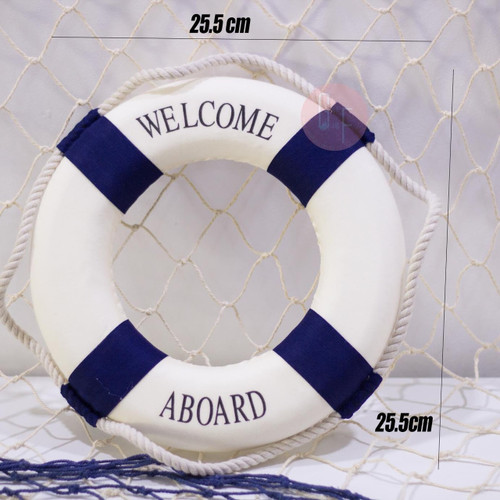 Nautical Theme Props: Life Preserver Buoy Props. Perfect for Nautical Themed Parties.