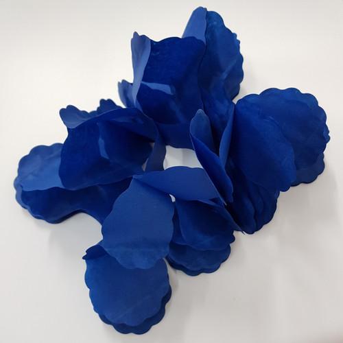 Tissue Paper 4-Leaf Clover Garland (3.6 meter) - Navy Blue