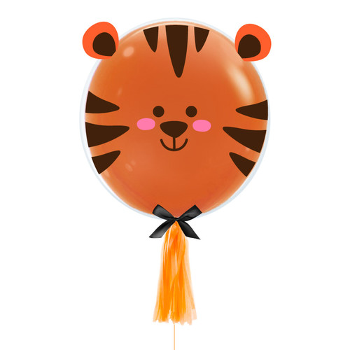 [Animal] Charismatic Tiger Balloon (20inch)