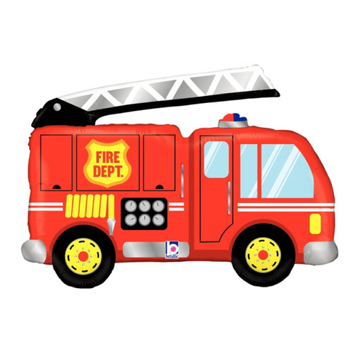 [Transportation] Fire Engine Foil Balloon (40inch)