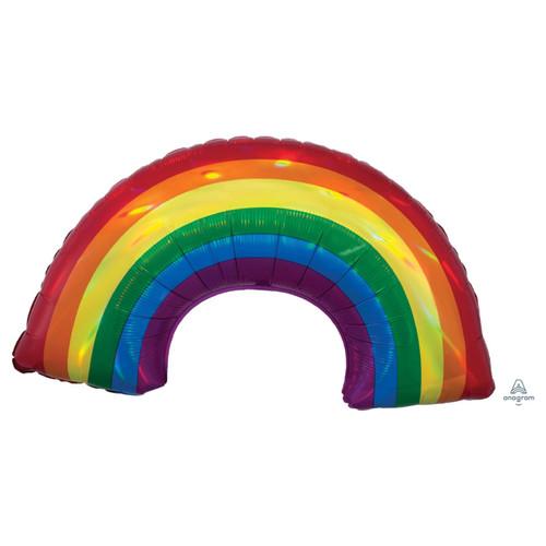 Iridescent Rainbow  Foil Balloon (34inch)