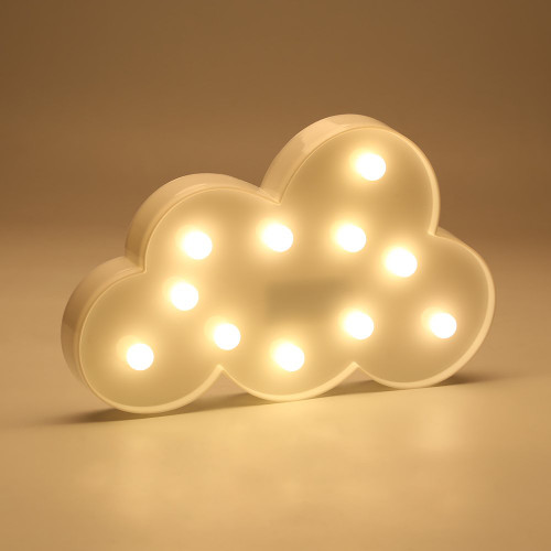 LED Marquee Light - White Cloud