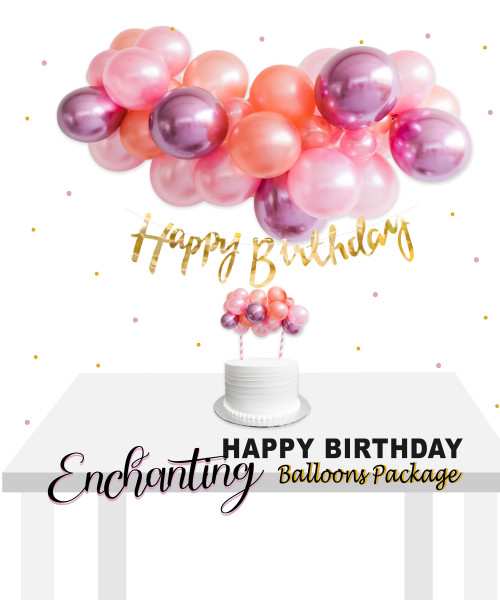 Enchanting Birthday Balloon Package