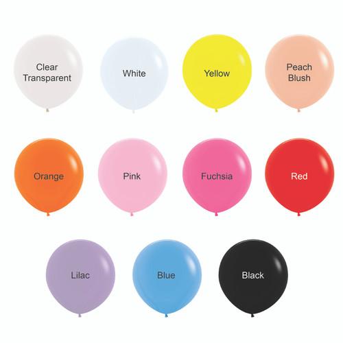 "36"" Giant Round Latex Balloons"