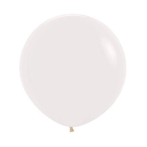 "[Oval Shaped] 36""/3 Feet Giant Round Latex Balloon - Clear Transparent"