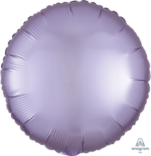 "17"" Satin Luxe Round Foil Balloon - Pastel Lilac"