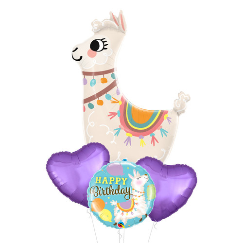 Loveable Llama Balloon Bouquet