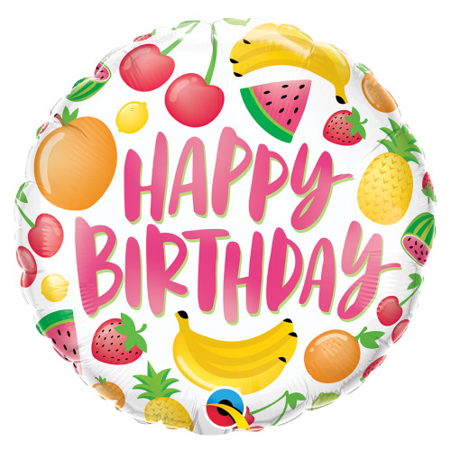 Birthday Fruits Foil (18inch)