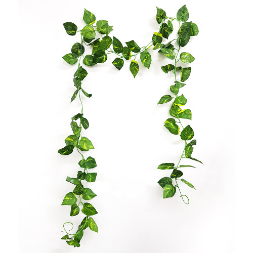 Artificial Leaves Garland (2.2 meter) - Cordate Leaves