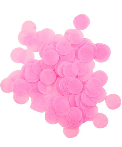 30gram Mini Paper Round Confettis (1cm) - Baby Pink
