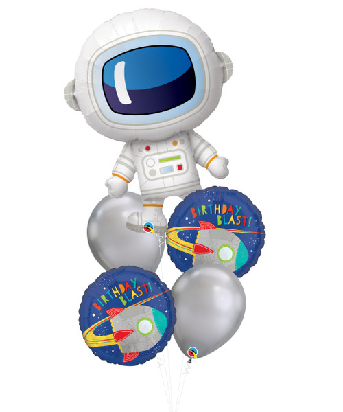 [Astronaut/Space] Fly Me to the Moon Balloons Bouquet