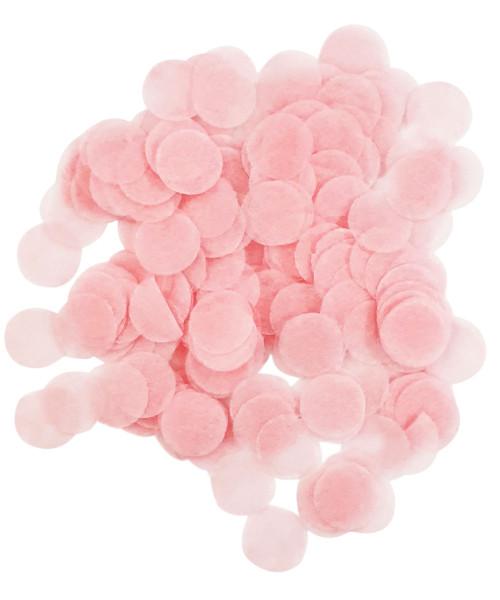 30gram Mini Paper Round Confettis (1cm) - Light Pink