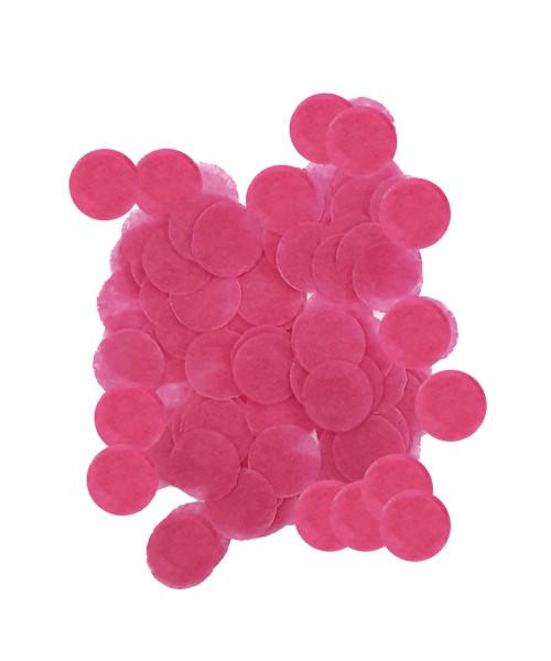 30gram Mini Paper Round Confettis (1cm) - Hot Pink