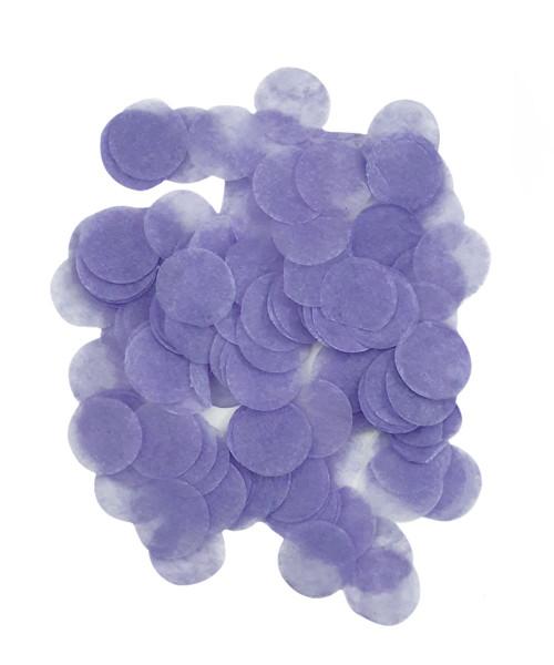 30gram Mini Paper Round Confettis (1cm) - Lavender Purple