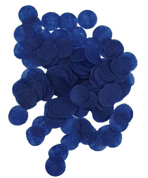 30gram Mini Paper Round Confettis (1cm) - Royal Blue