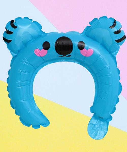 Trendy Animal Balloon Headband - Cuddy Bear