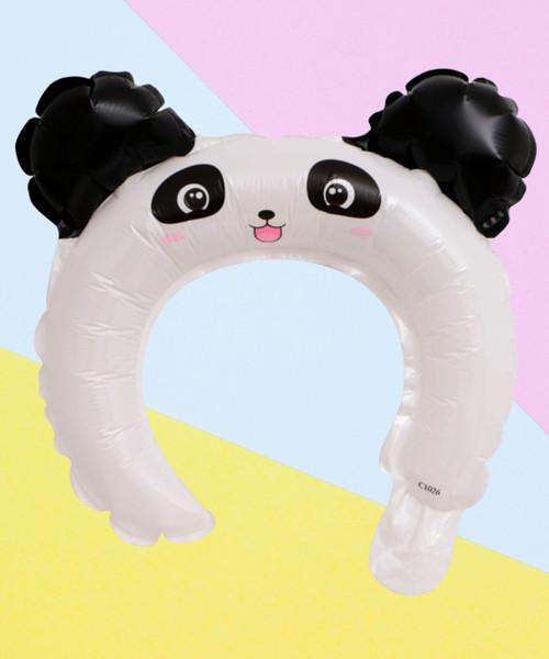 Trendy Animal Balloon Headband - Friendly Panda
