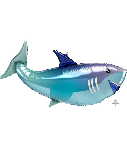 [Sea Creature] Baby Shark Foil Balloon (38inch)