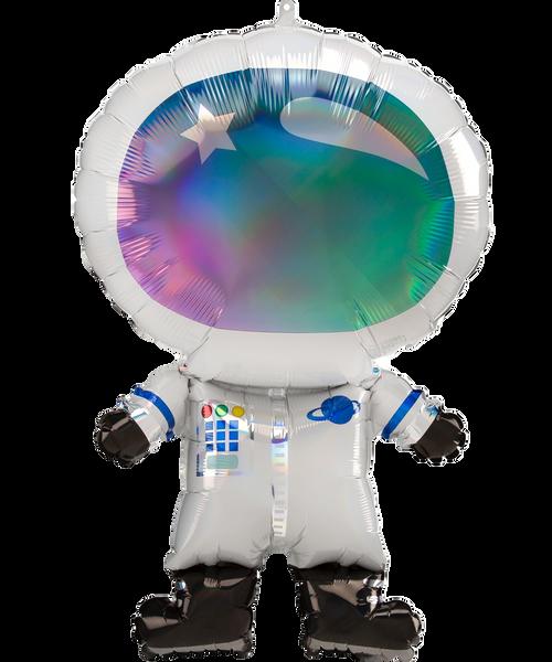 [Astronaut/Space] Iridescent Astronaut Foil Balloon (30inch)