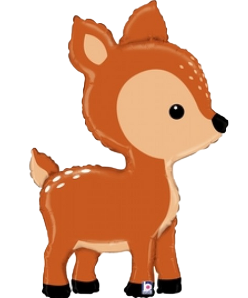 [Animal] Woodland Deer Foil Balloon (43inch)
