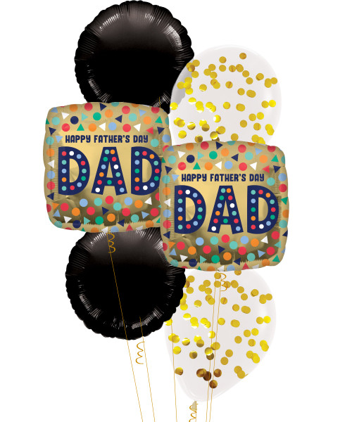 [To My SUPERDAD] Happy Father's Day Dad Balloons Bouquet