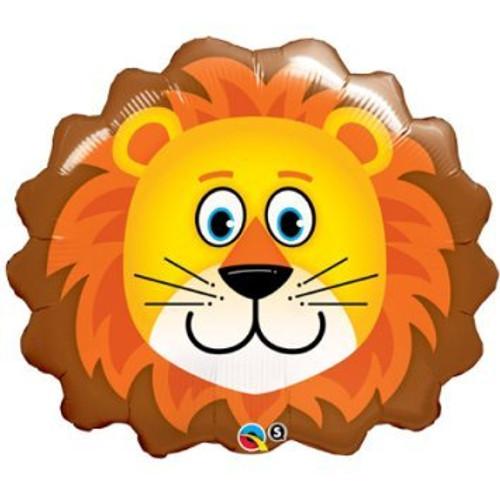 [Animal] Safari Animal Loveable Lion Foil Balloons (29inch)