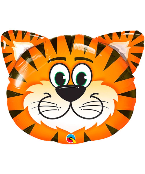 [Animal] Safari Animal Tickled Tiger Foil Balloon (30inch) (Q16189)