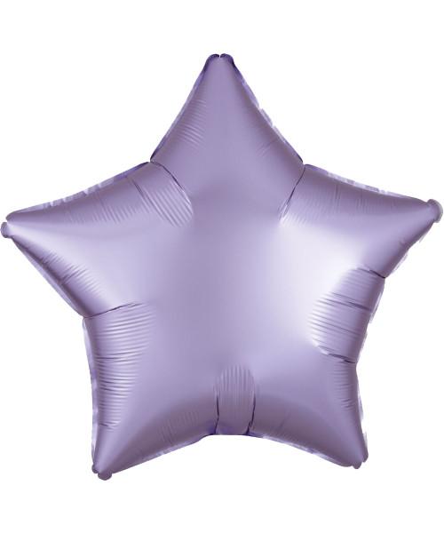 "19"" Star Foil Balloon - Satin Luxe Pastel Lilac"