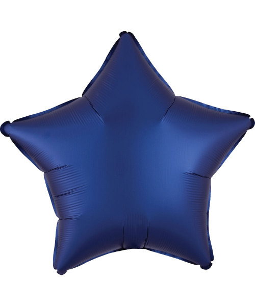"19"" Star Foil Balloon - Satin Luxe Navy"