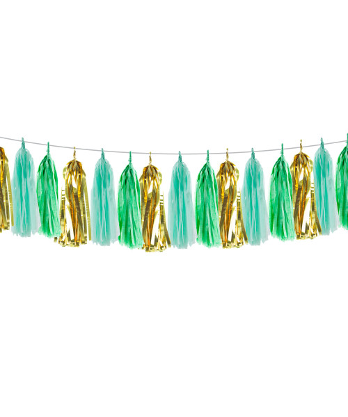[Hari Raya Haji 2020] Selamat Hari Raya Haji Themed Tassel Garlands DIY Kit (15 Tassels)