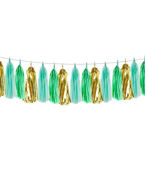 (15 Tassels Pack) Tassels Garland DIY Kit (15 Tassels) - Selamat Hari Raya Haji