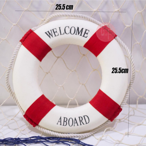 Nautical Theme Props: Life Preserver Buoy Props. Perfect for Nautical Themed Parties