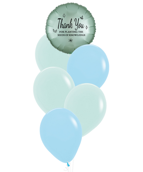 [Happy Teacher's Day] Thank You for Planting the Seeds of Knowledge Balloons Cluster