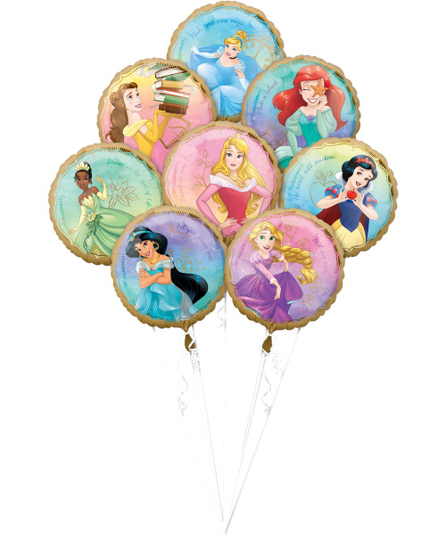 Princess Once Upon A Time Balloons Bouquet (A39808)