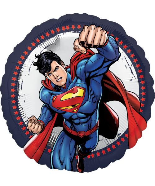 [Superman] Superman Round Foil Balloon (18inch)