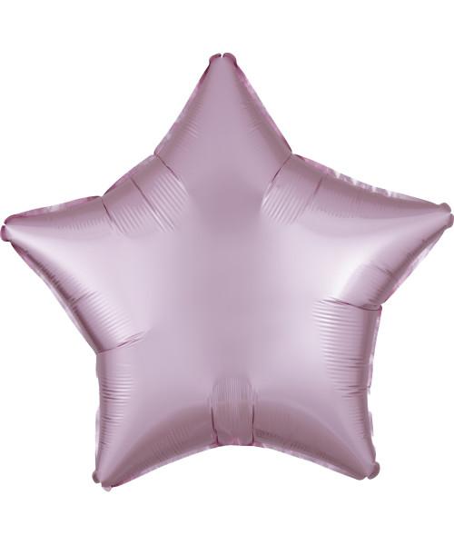 "19"" Star Foil Balloon - Satin Luxe Pastel Pink"