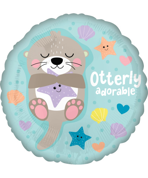 [Baby] Otterly Adorable Foil Balloon (17inch)