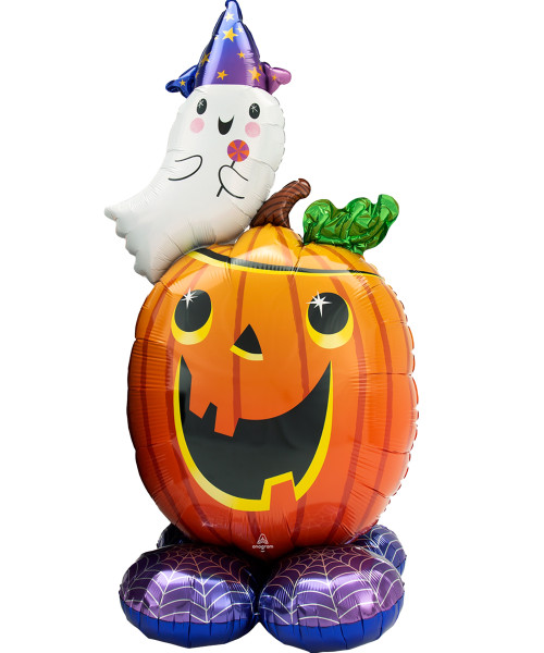 [Halloween] Pumpkin and Ghost AirLoonz (56inch)