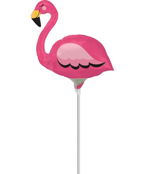 [Flamingo] Flamingo with stick (11inch)