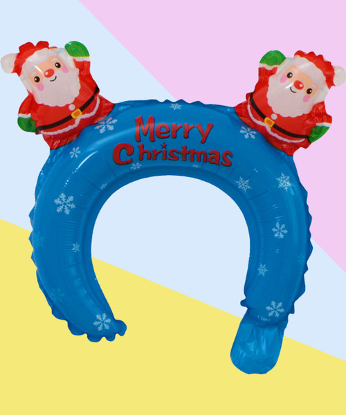 Trendy Christmas Balloon Headband - Santa Claus