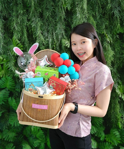 [Mid Autumn 月圆人团圆] Exquisite Mid Autumn Gift Basket - Seasonal Limited