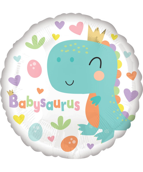 [Dinosaur] Babysaurus Foil Balloon (18inch)
