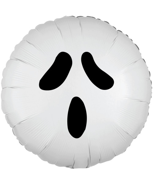 [Halloween] Boo-tiful Ghost in White Round Foil Balloon (18inch)