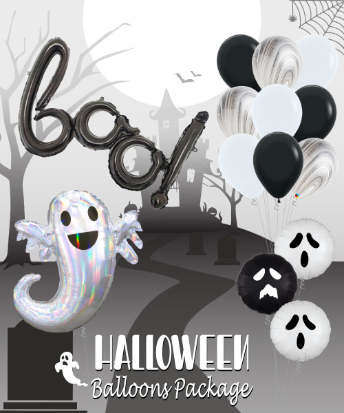 BOO! Halloween Balloon Package